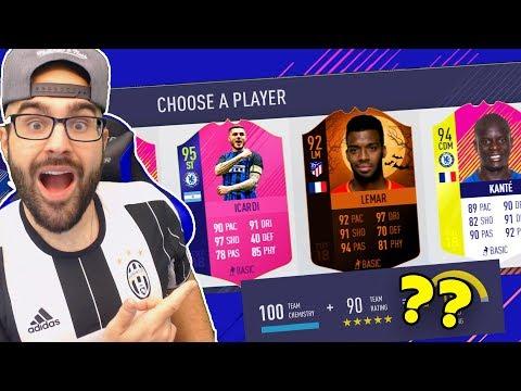 OMG HIGHEST RATED FUT DRAFT CHALLANGE! FIFA 18 Ultimate Team Draft