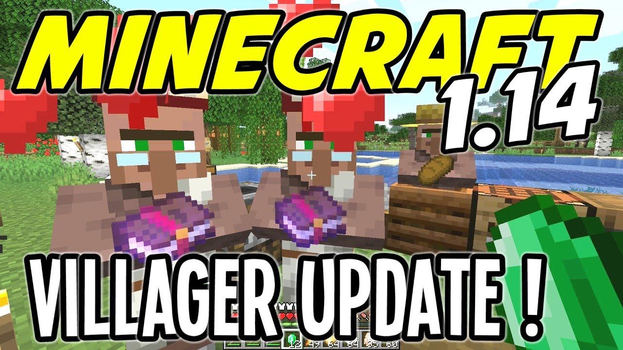 Minecraft 1 14 - HUGE VILLAGER UPDATE! (Snapshot 19w11a/b) - Ep 20