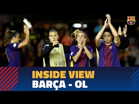 [BEHIND THE SCENES] Barça - OL in the Women's Champions League