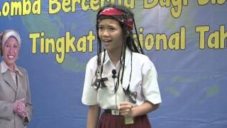 Berliana Ardha P.  (Legenda batu Celeng) Grand Final 07 Lomba Bercerita SD/MI Nasional 2014
