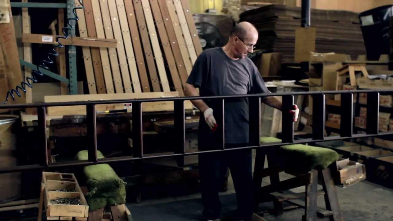Putnam Rolling Ladder Company Making Ladders