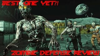 BEST TOWER DEFENSE GAME?! Zombie Defense - F2P Review