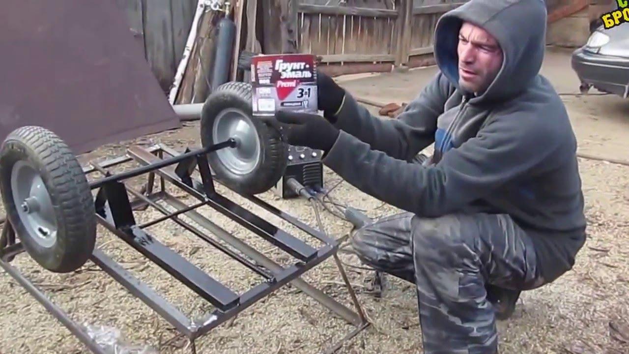Складная тележка Зубр Эксперт 38750-60 - YouTube