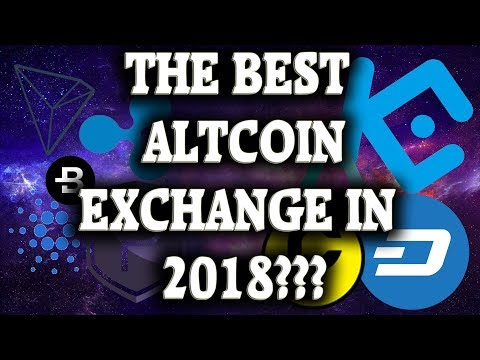 THE BEST ALTCOIN EXCHANGE???