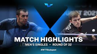 Sadi Ismailov vs Kilian Ort | WTT Contender Budapest 2021 (R32)