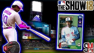 Diamond Babe Ruth Pitching & Andre Dawson Debut - MLB The Show 18 Gameplay