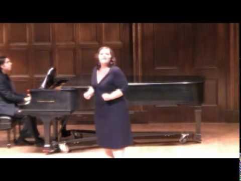 """2010 Lotte Lenya Competition: Margaret Gawrysiak sings """"Sie soll sein wie ein Netz"""""""