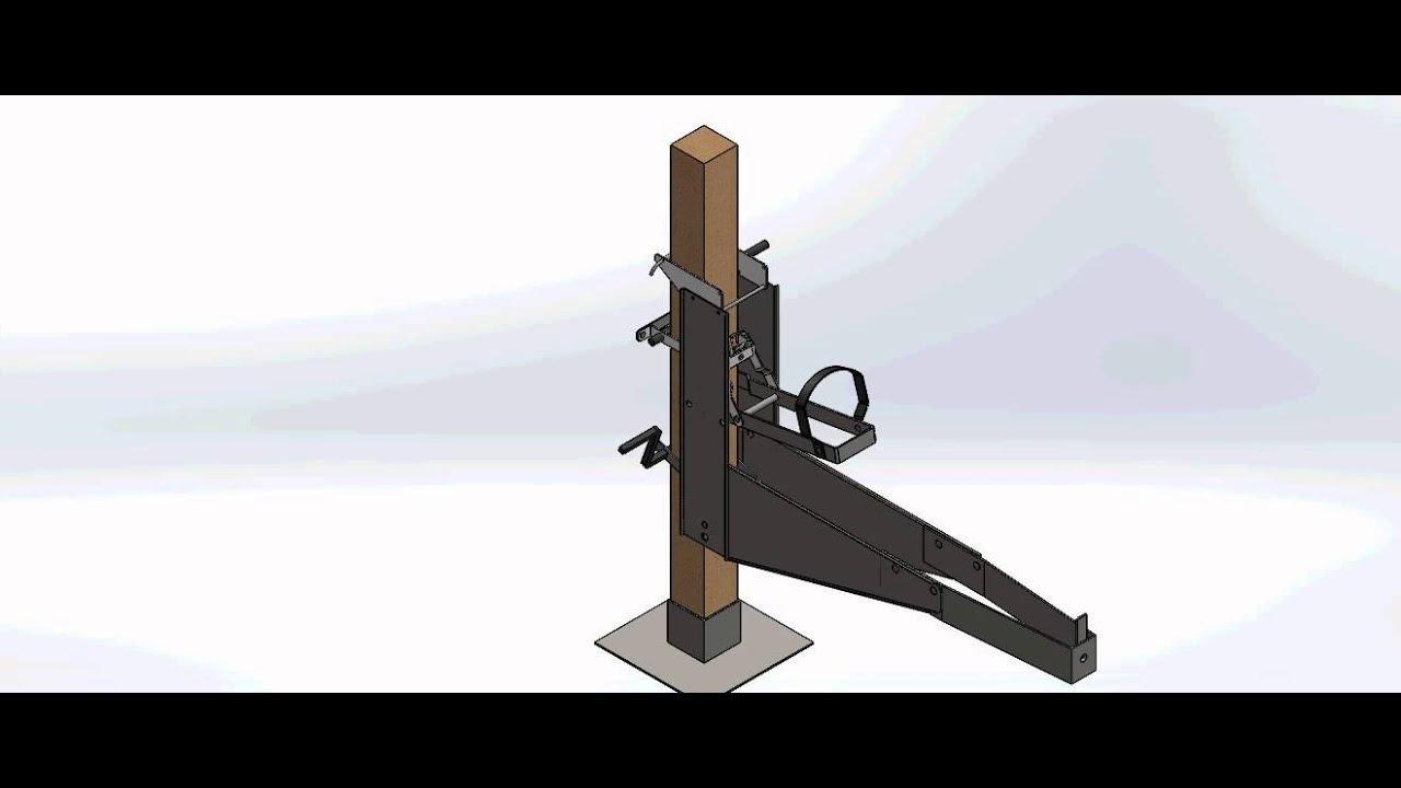 Pump Jack Scaffolding Quot Pjs Quot System Design By Solidworks