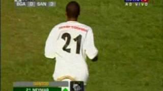 Neymar estréia na Copa São Paulo