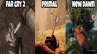 Evolution Of Healing Animations In Far Cry