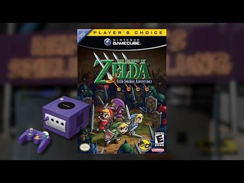 Gameplay :  The Legend of Zelda Four Swords Adventure [GameCube]