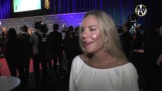 Emma Igelström hyllar Sarah Sjöström - idrottsgalan 2019