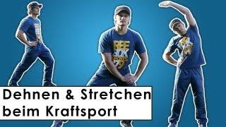 Richtig Dehnen und Stretchen - Wichtig für Muskelaufbau?