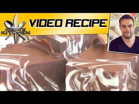 Download Youtube: Double Chocolate Fudge (3 Ingredients)