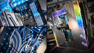 Project ROYAL Crystal | Building a CUSTOM PC for G.Skill from SCRATCH | bit-tech Modding