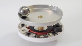 Free Energy Magnetic Engine