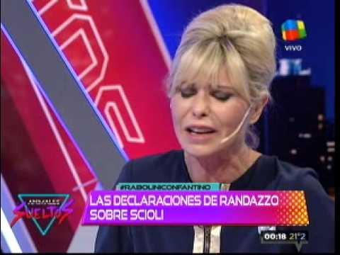 La burla de Randazzo y el llanto de Karina Rabolini