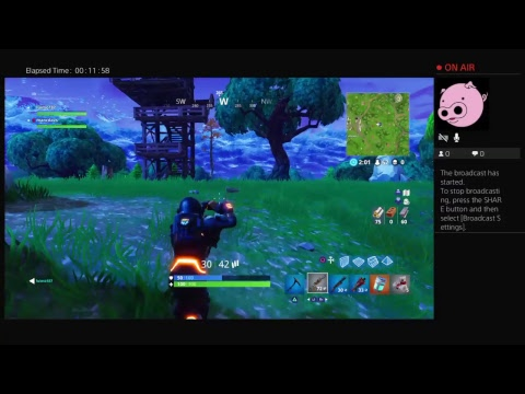 Fortnite live stream