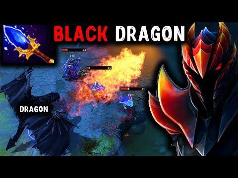 видео: ЧЕРНЫЙ ДРАКОН - ДК С АГАНИМОМ! next level dragon knight dota 2
