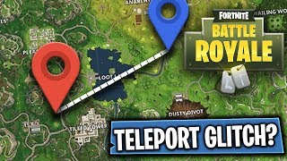 TELEPORT GLITCH? | Fortnite