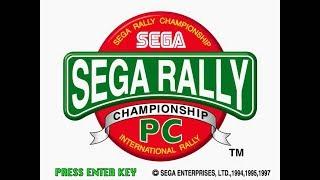Sega Rally Championship (1997) PC Gameplay
