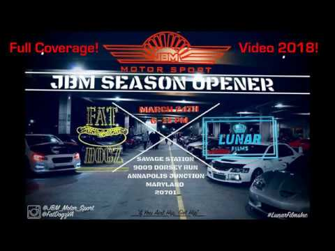 JBM Season Opener Mega Garage Car Meet And Show! 3/24/2018