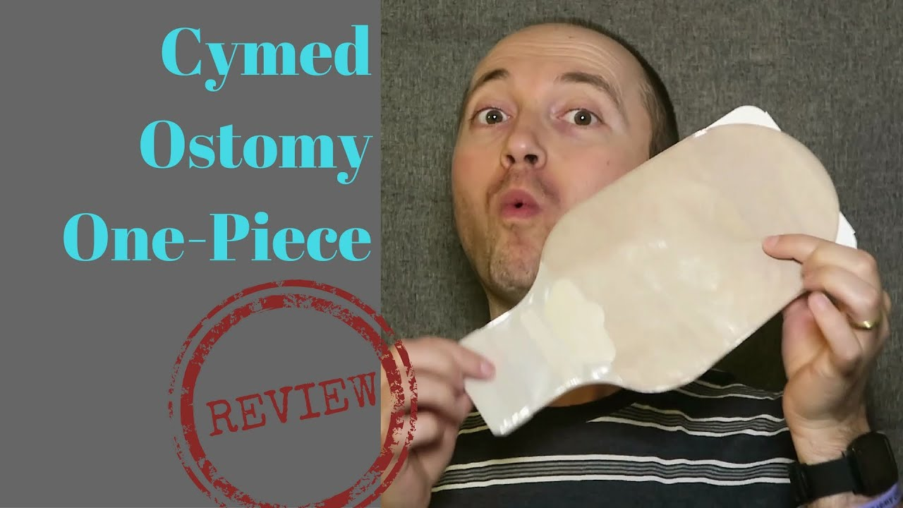 cymed 1pc drainable ostomy bag review youtube