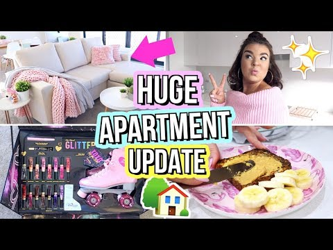 New Furniture, Birthdays & DISLOCATING MY KNEE! Moving Vlog #3