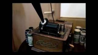 EDISON STANDARD PHONOGRAPH TYPEA 1903年製.