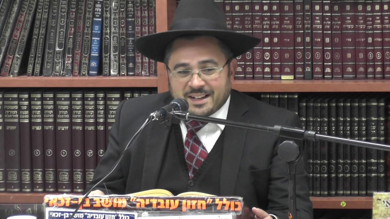 הרב אמיר כהן : פרשת כי תשא - על פי אור החיים הקדוש .