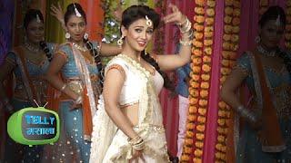 video adaa khan aka sesha hot dance performance on holi like ok holi celebration