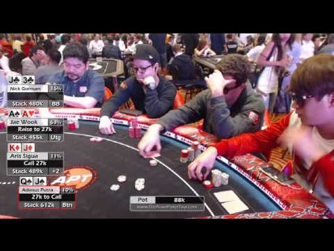 1M GTD Welcome Event Final Table - APT Experience Manila 2016