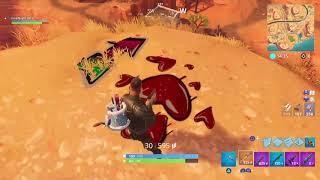 Fortnite lama then secret mini game