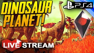 No Man's Sky Gameplay | Dinosaur Planet | Part 7 Live Stream