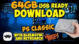 ️ 64GB GAMES FOR PS CLASSIC USB READY