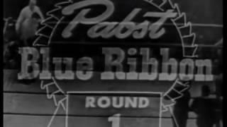 Ray Robinson vs Gene Fullmer II 1.5.1957 - NBA World Middleweight Championship