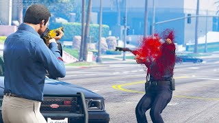 Gta 5 Pc Realistic Deaths 60fps Euphoria Ragdoll Overhaul 129