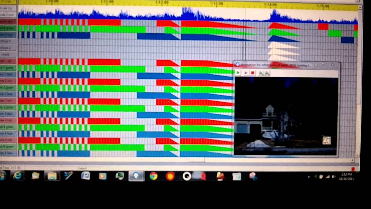 introduction to light o rama the holiday light show software part 1 youtube