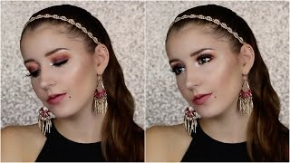 Jaclyn Hill ♥ Fall Smokey Eye - Pop Of Teal Makeup Tutorial   Makeup
