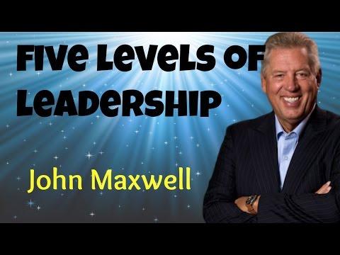 Five levels of Leadership ; english christian message ; John C Maxwell:
