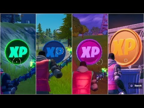 All XP Coins Locations Guide (Green, Blue, Purple & Gold) – Fortnite Chapter 2 Season 2