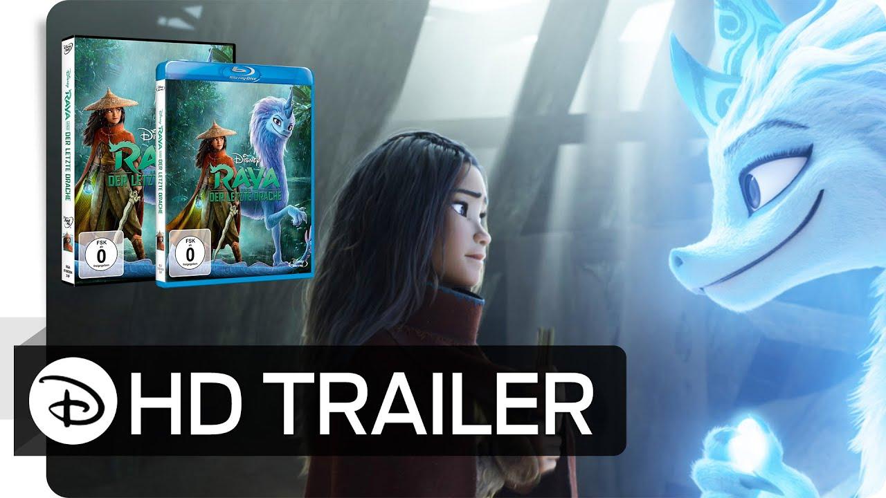 RAYA UND DER LETZTE DRACHE – Jetzt als DVD, Blu-ray™ und als Download   Disney•Pixar HD