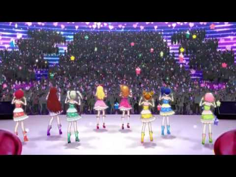 [HD] Aikatsu! Movie Opening: Shining Line