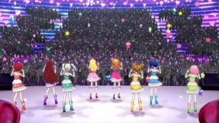 Aikatsu! Movie Opening. Live: Shining Line I found the English sub ...