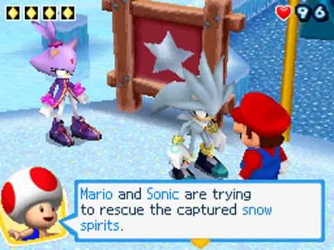 Mario & Sonic at the Olympic Winter Games - Arcade Games