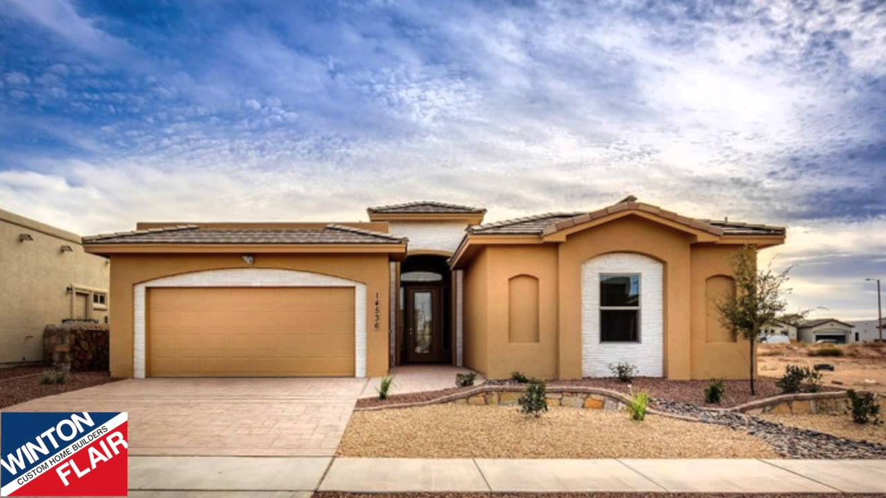 New homes in el paso tx winton homes july special youtube for New homes in el paso tx