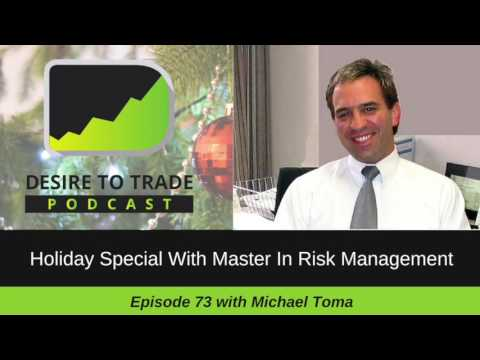 Professional Futures Trader & Risk Management Expert - Michael Toma (episode 73)