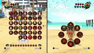 LEGO Ninjago Movie Videogame: All Characters Unlocked / Abilities Showcase!! / Видео