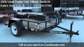 2005 Used Trailer 5X8 Tiltbed Tilt trailer for sale in Arthu