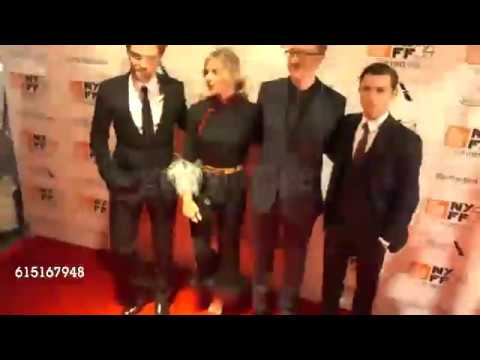 Robert Pattinson, Sienna Miller, James Gray and Tom Holland - NYFF
